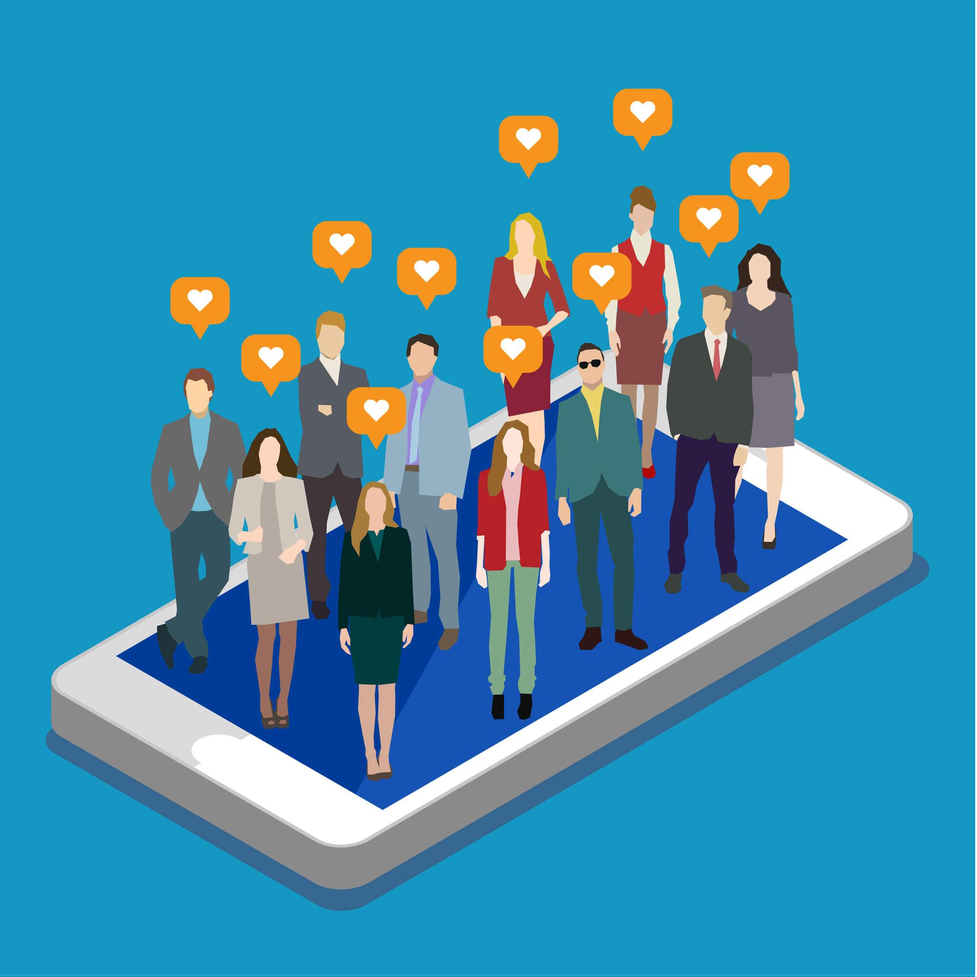social media raising awareness examples