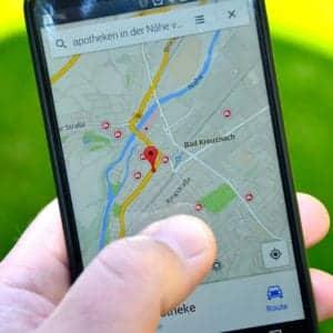 Google Maps on Mobile - Infinteh Designs